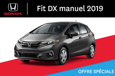 Honda Fit DX manuel 2019