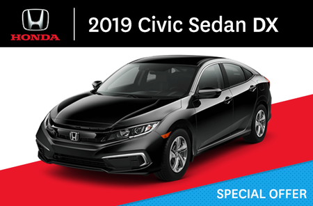 2019 Honda Civic Sedan DX manual