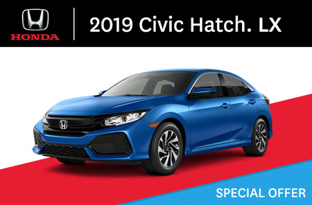 2019 Honda Civic Hatchback  LX manual