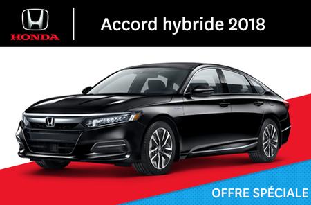 Honda Accord hybride E-CVT 2018