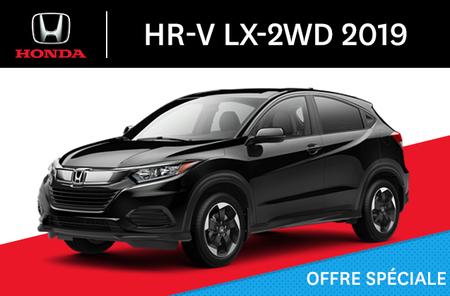 Honda HR-V LX-2WD C-CVT 2019