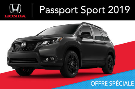 Honda Passport SPORT 2019
