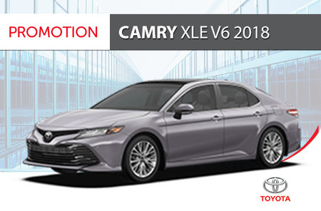 Toyota Camry XLE V6 2018 Groupe standard