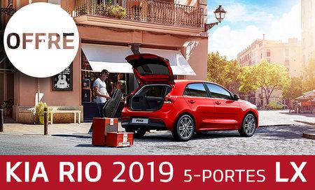 Rio 5 portes LX+ 2019