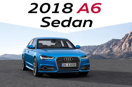 2018 A6 Sedan