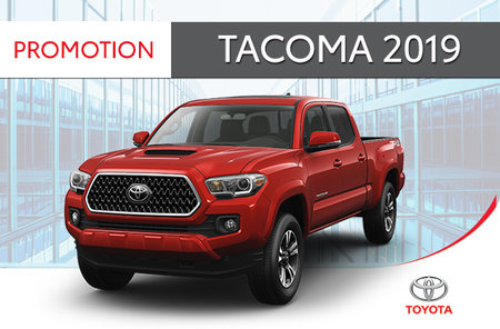 Tacoma 4X4 DoubleCab 6A SB 2019