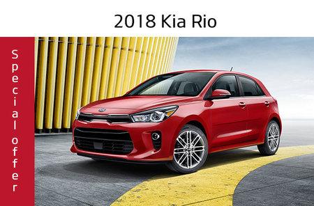 2018 Rio 5 doors LX+