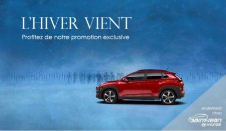 Promotion Pneus d'Hiver Gratuits