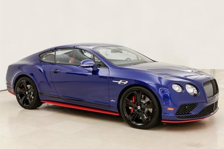 Bentley Continental GT Speed GT Speed 2017