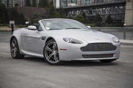 2008 Aston Martin V8 Vantage Roadster Manual