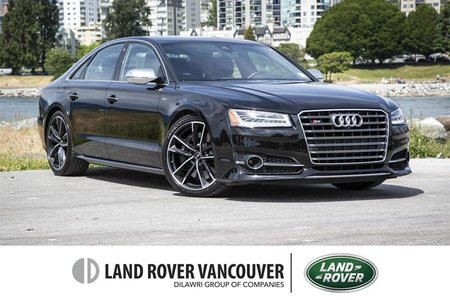 2017 Audi S8 4.0T Plus NWB quattro 8sp Tiptronic