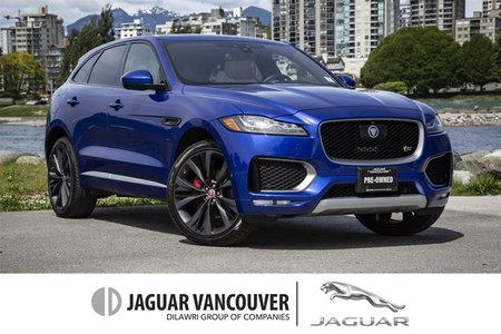 2017 Jaguar F-Pace S First Edition