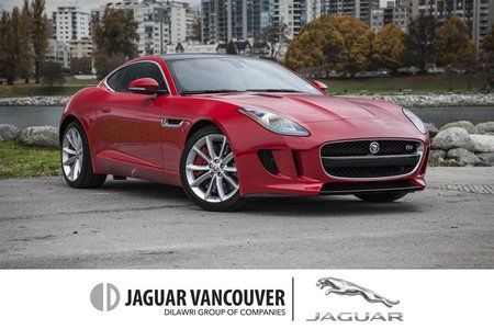 2015 Jaguar F-Type Coupe S at