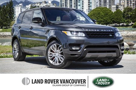 2016 Land Rover Range Rover Sport V8 Supercharged Dynamic