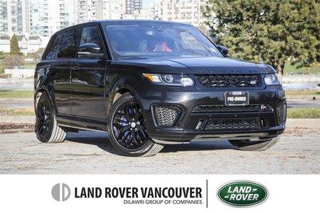 2017 Land Rover Range Rover Sport V8 Supercharged SVR