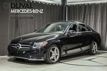 2015 Mercedes-Benz C-Class 0.90% 60mois C300 4MATIC NAVIGATION AMG PACK TOIT