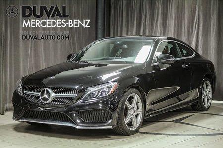2017 Mercedes-Benz C-Class C300 4MATIC COUPE