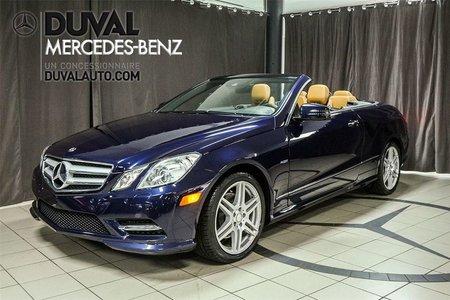 2012 Mercedes-Benz E-Class E350 SPORT PACK CAMERA NAVI ANGLE MORT