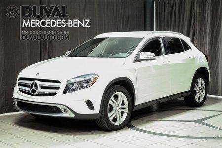 2015 Mercedes-Benz GLA-Class GLA250 4MATIC BAS KILOMÉTRAGE ! GPS
