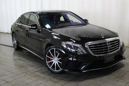 2015 Mercedes-Benz S63 AMG 4MATIC Sedan