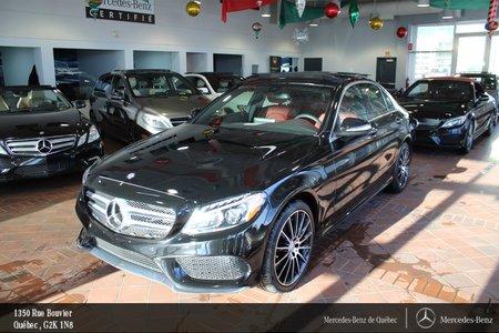 2015 Mercedes-Benz C-Class C400 4MATIC, Parktronic, Navi, Sirius,toit pano