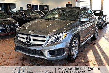2017 Mercedes-Benz GLA-Class GLA250 4MATIC, cam recul, parktronic, toit pano