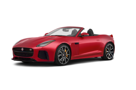 2019 Jaguar F-Type Convertible 575hp SVR AWD