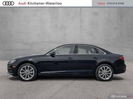 2017 Audi A4 2.0T Progressiv quattro 7sp S tronic