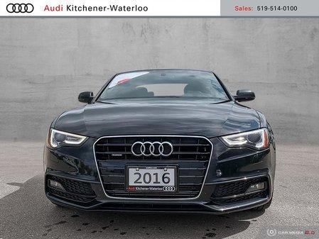 2016 Audi A5 2.0T Technik Plus quattro 8sp Tiptronic Cpe