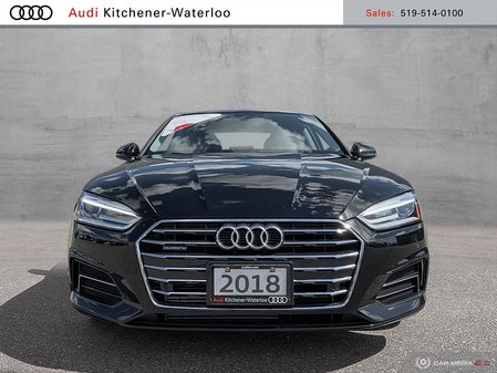 2018 Audi A5 2.0T Komfort quattro 7sp S Tronic Cpe