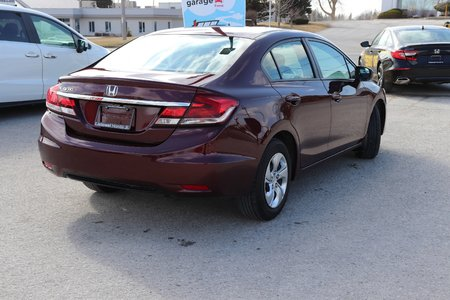 2015 Honda Civic Sedan LX-ONE OWNER, CERTIFIED
