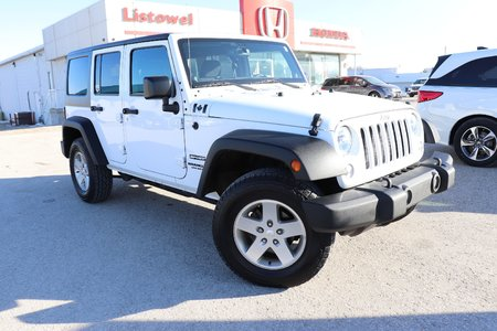 2014 Jeep Wrangler Unlimited Sport- 2 TOPS, EXCELLENT CONDITION
