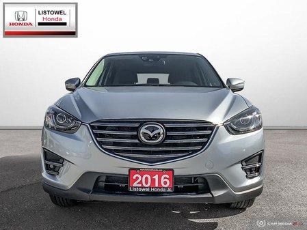 2016 Mazda CX-5 GT- LEATHER, NAVIGATION, AWD