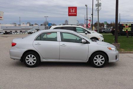 2013 Toyota Corolla CE- GREAT FUEL ECONOMY, GREAT PRICE