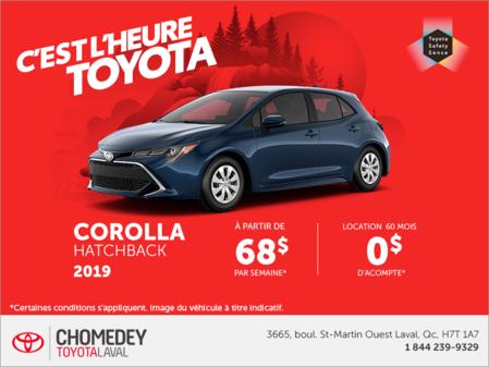 Toyota Corolla HB 2019
