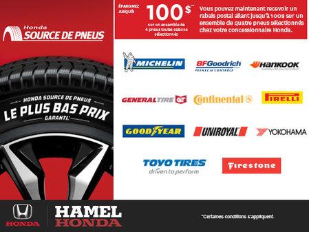 Honda source de pneus