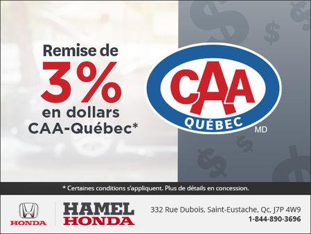 Offre de CCA Québec