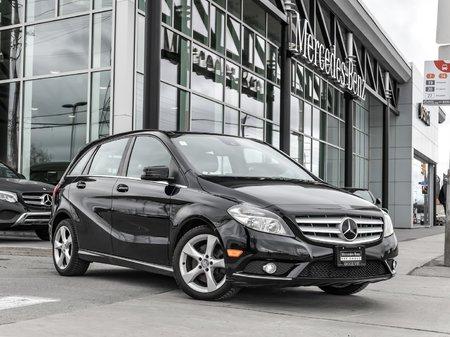 2014 Mercedes-Benz B250 Premium pkg, Driving assistance pkg, Pano sunroof