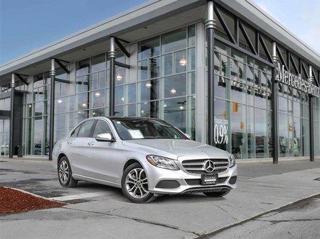 2017 Mercedes-Benz C300 Navi, All wheel drive, Panoramic sunroof