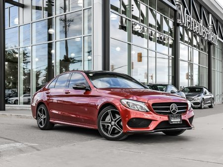 2017 Mercedes-Benz C300 Panoramic sunroof, Sirius satellite radio, Heated seats