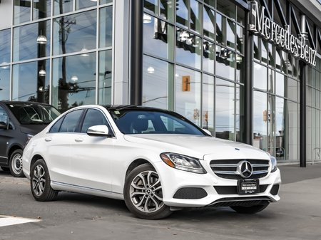 2017 Mercedes-Benz C300 Premium package, Navi, All-wheel drive