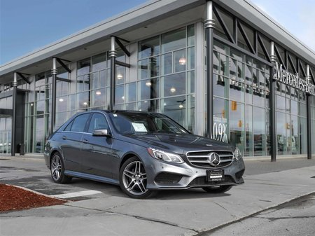 2016 Mercedes-Benz E250 4Matic Panroof Intelligent drive Parktronic 360 Camera