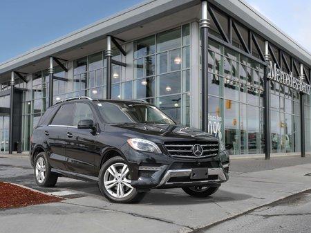 2015 Mercedes-Benz ML350 Only 1 Owner, heated steering wheel, premium package