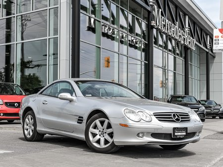 2003 Mercedes-Benz SL500 POWER CONVERTIBLE TOP, LEATHER, NAVI