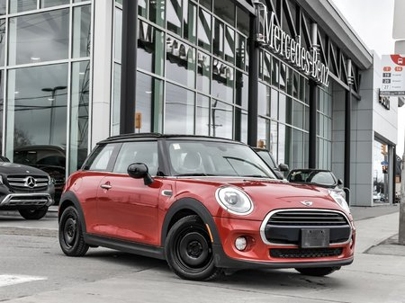 2017 MINI Cooper NAVIGATION, BLUETOOTH, LED LIGHT PACK Need a small fuel efficent vehicle that is fun and funky ! This Mini has all the options a