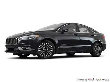 Ford Fusion Hybrid PLATINUM  2017 - photo 4