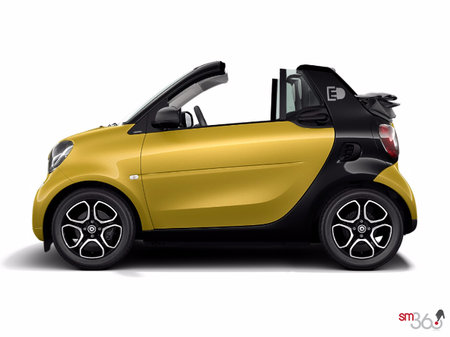 smart fortwo electric drive cabriolet passion 2018 - photo 2