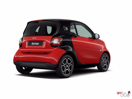 smart fortwo coupé - électrique passion 2018 - photo 2
