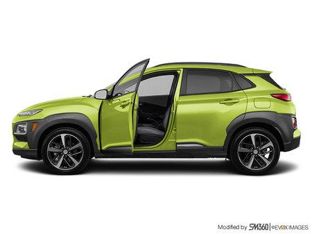 Hyundai Kona ULTIMATE Black with Lime Trim 2019 - photo 1