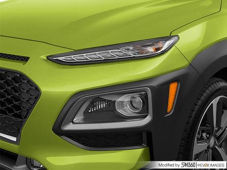 Hyundai Kona ULTIMATE Black with Lime Trim 2019 - photo 2